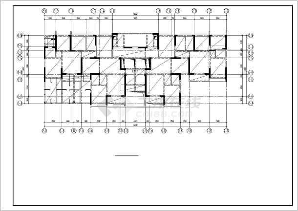 武汉某27层剪力墙商住楼结构设计图-图1
