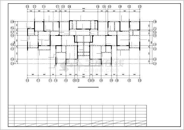 武汉某27层剪力墙商住楼结构设计图-图3