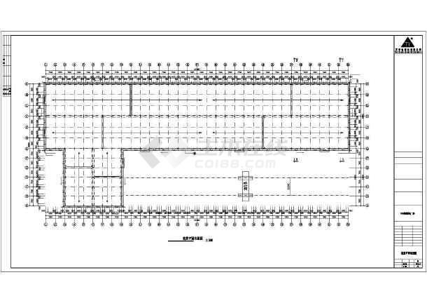 某公司轻钢厂房建筑结构设计CAD图-图3