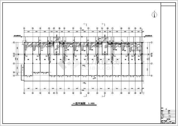安徽高档小区商住楼给排水施工图-图2