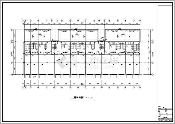安徽高档小区商住楼给排水施工图-图3