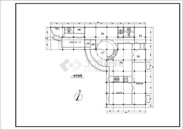 某厂房设计方案图-图1
