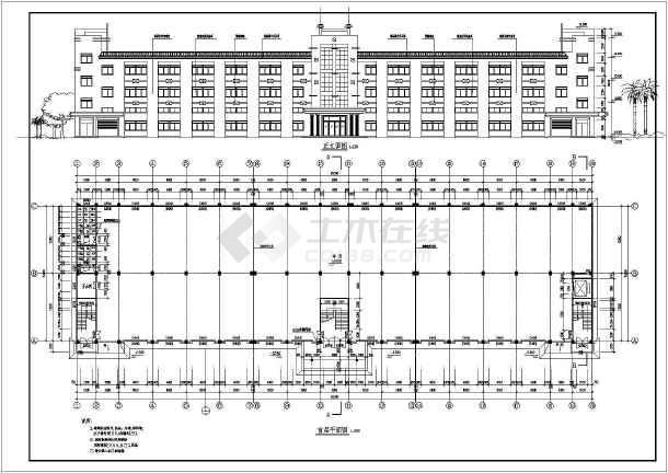某厂房建筑施工图-图2