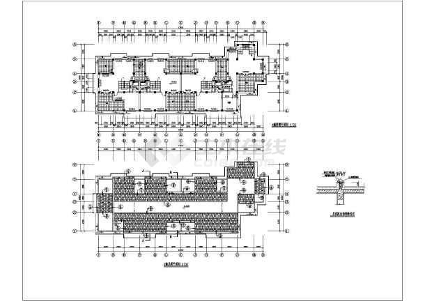 某联建房建筑施工设计CAD图-图1