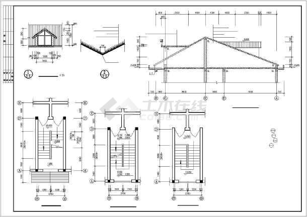 某市花园小区住宅楼建筑设计施工图-图3
