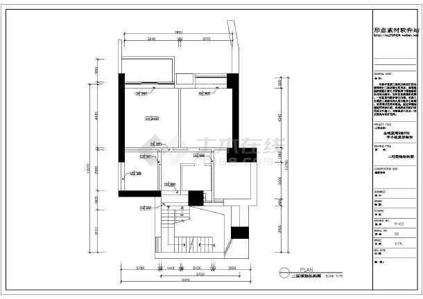 金域蓝湾简欧家装设计施工图-图2