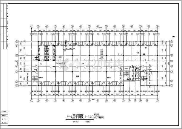 某地多层的学生宿舍建筑设计图-图2