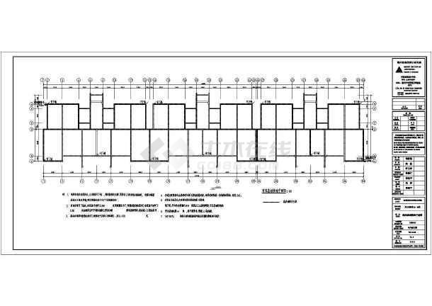 [江西]职工过渡房电气施工图-图1