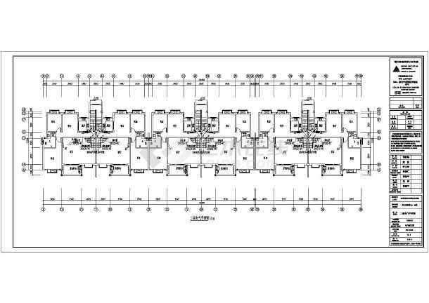 [江西]职工过渡房电气施工图-图2