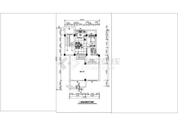 精细整套室内家装平面施工布置图-图2