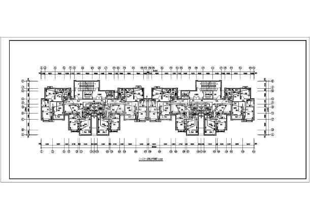 [河北]高档住宅楼电气施工图带人防(甲级院)-图1