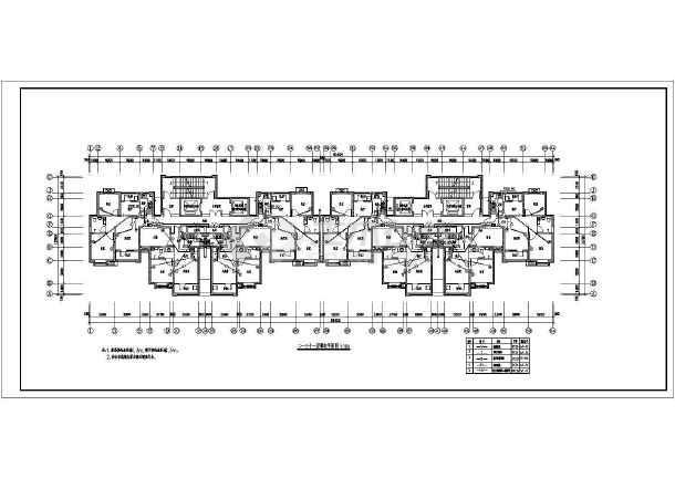 [河北]高档住宅楼电气施工图带人防(甲级院)-图2