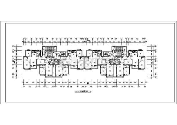 [河北]高档住宅楼电气施工图带人防(甲级院)-图3