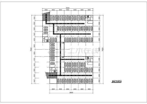 某市区住宅小区规划设计总图-图1