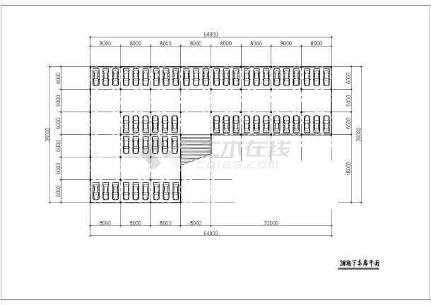 某市区住宅小区规划设计总图-图2