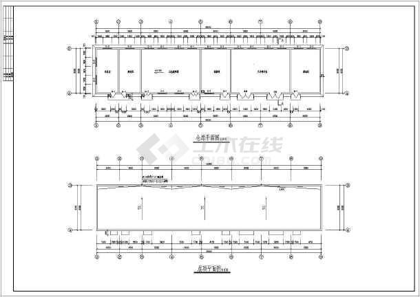 某综合仓库建筑施工图-图2
