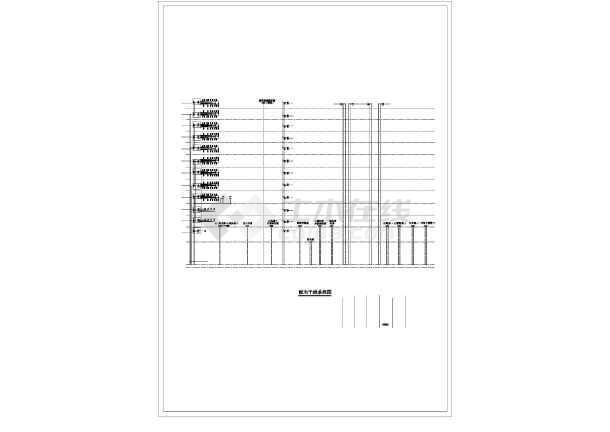 [山西]办公综合大楼精装电气全套施工图-图3