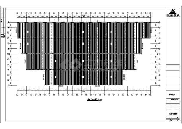 某厂房工程建筑结构CAD图-图1