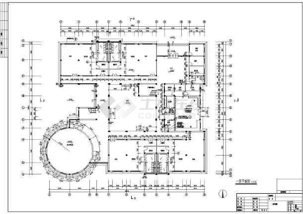 某地幼儿园建筑施工图(共4张)-图2