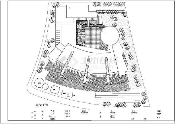 某地幼儿院建筑施工图(共5张)-图2