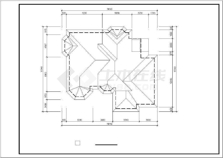 某地生态休闲别墅建筑设计图-图3