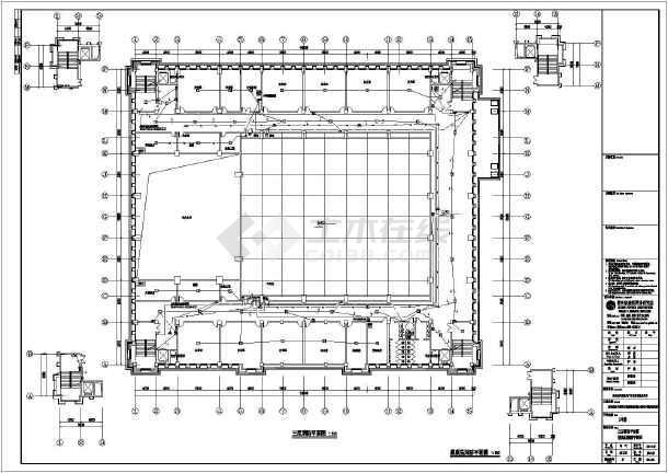 [贵州]会议中心电气施工图(含消防系统原理图)-图1