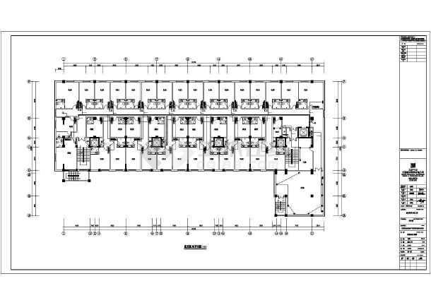 [内蒙古]政府机关宿舍娱乐综合楼电气施工图-图1