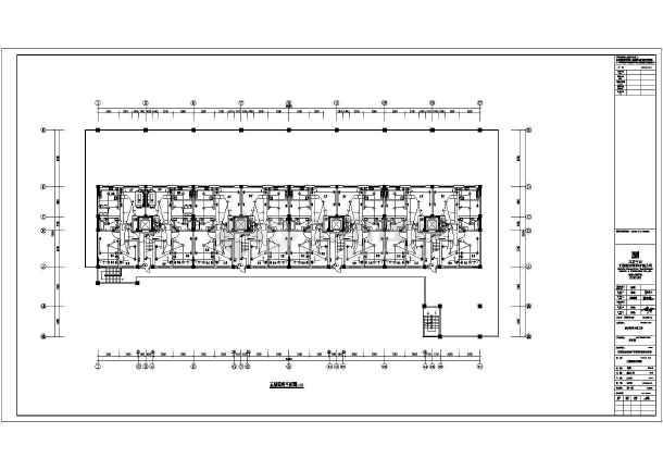 [内蒙古]政府机关宿舍娱乐综合楼电气施工图-图2