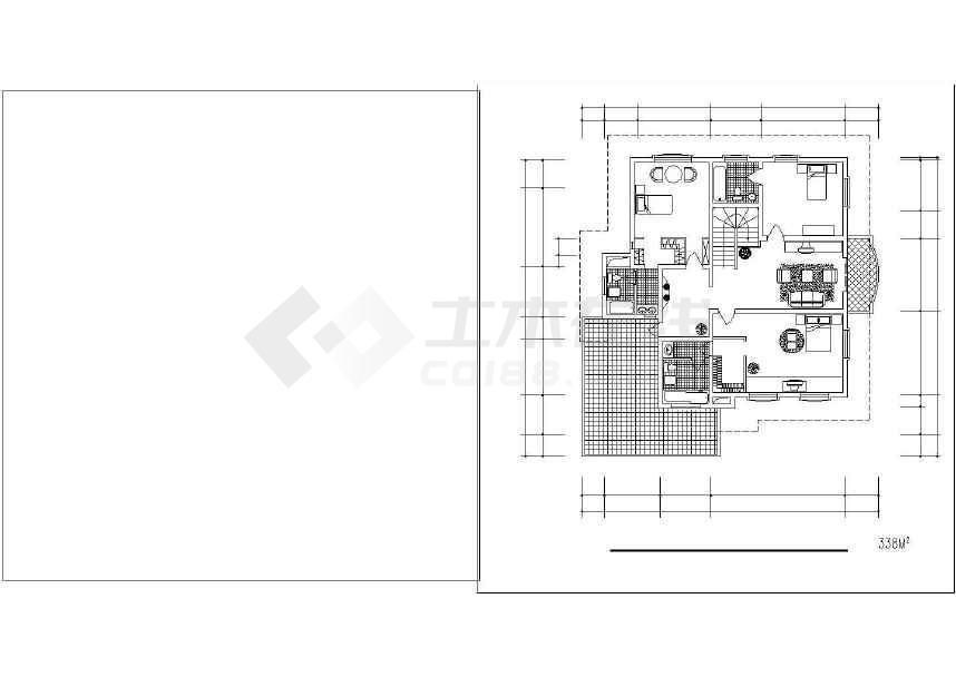 某地精美别墅设计建筑施工图-图1