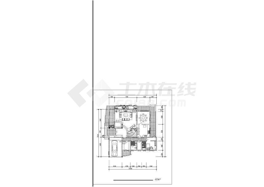 某地精美别墅设计建筑施工图-图2