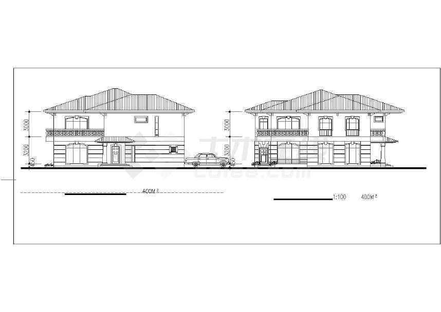 某地精美别墅设计建筑施工图-图3