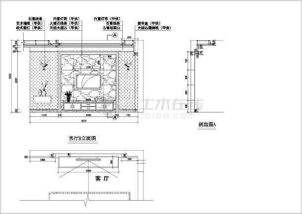 精致欧式住宅全套装修设计施工图-图2