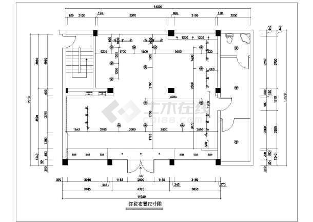 某连锁服装店全套装修设计图纸-图3