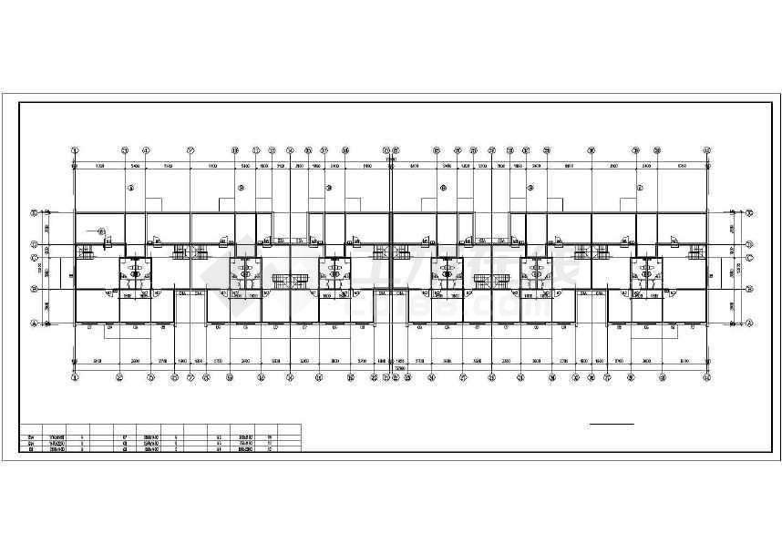 简单精致的住宅楼建筑施工图-图2