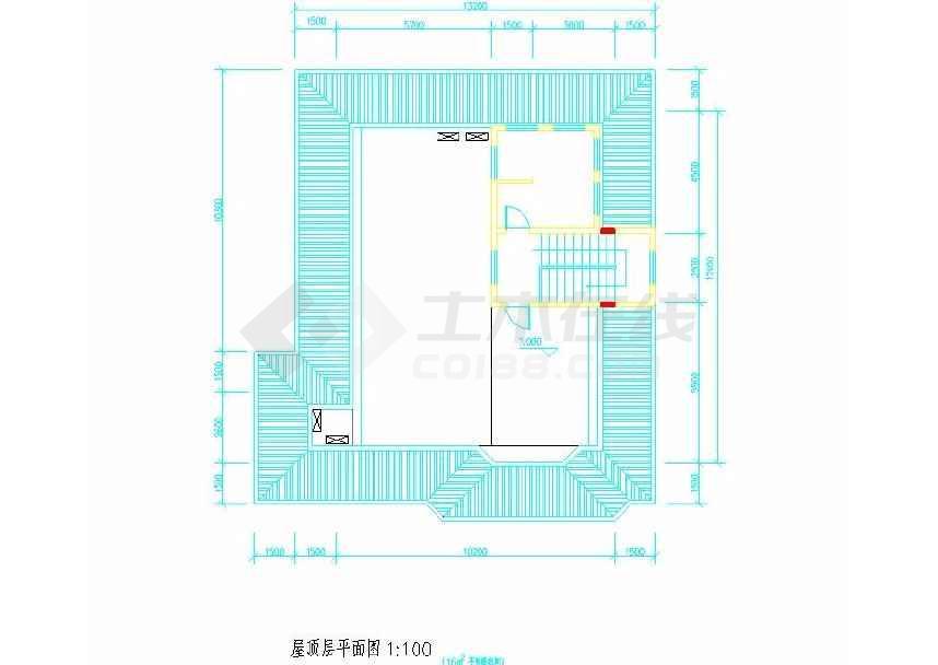 某地小型别墅建筑方案设计图-图1