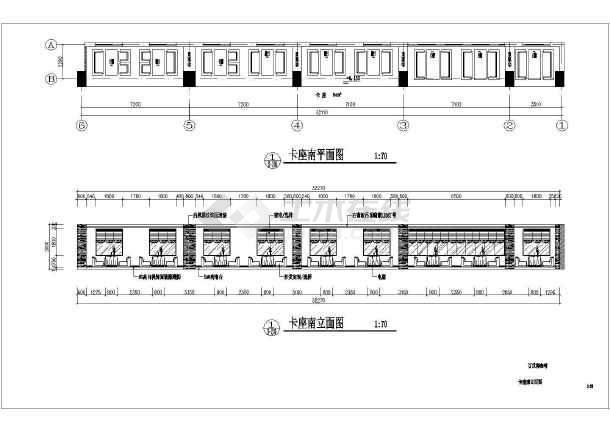 标准咖啡厅全套装修设计施工图-图1