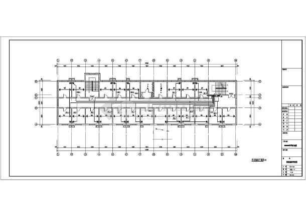 [浙江]4层中学宿舍楼电气全套施工图-图3