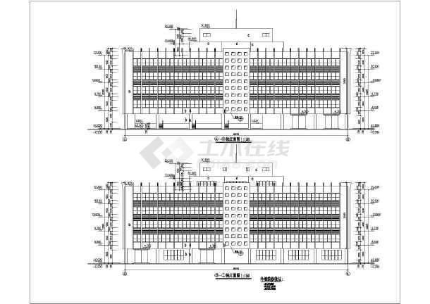 某厂房大厦建筑施工图-图1