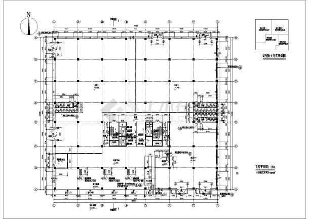 某厂房大厦建筑施工图-图2