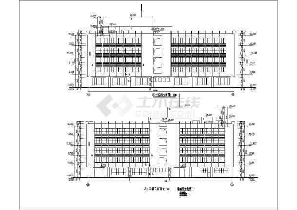 某厂房大厦建筑施工图-图3