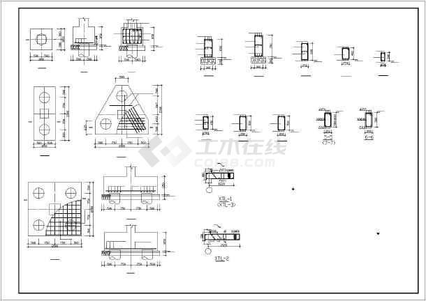 某地经典住宅建筑结构图纸-图3