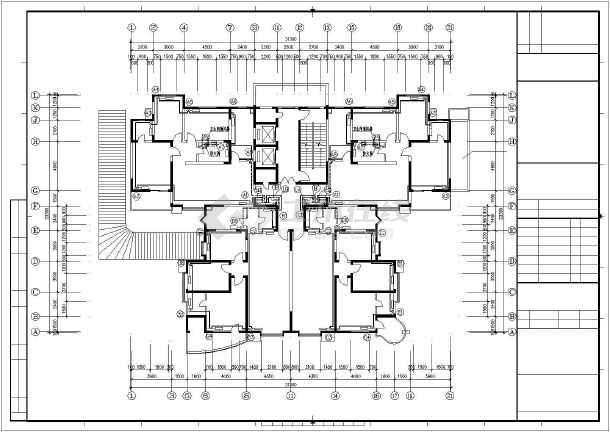 某十九层住宅楼采暖通风图纸-图2