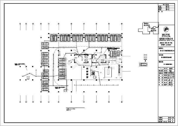 [江西]高档酒店电气施工图带车库-图3