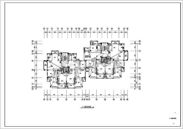 [浙江]高档住宅社区电气施工图-图3