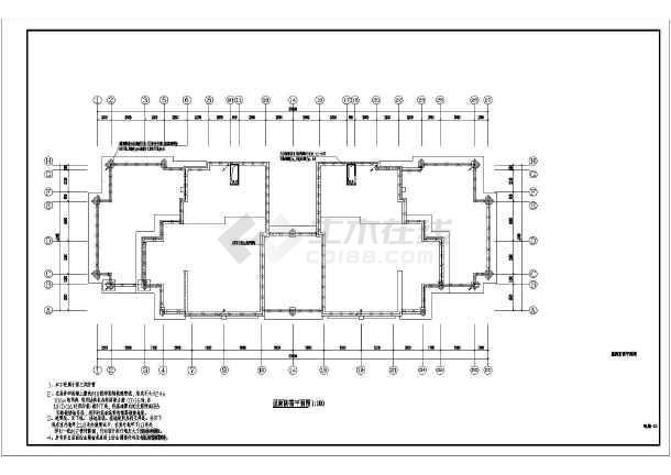 18层住宅楼电气全套施工图-图3