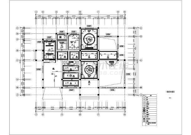 欧式复式别墅全套装修设计图-图1