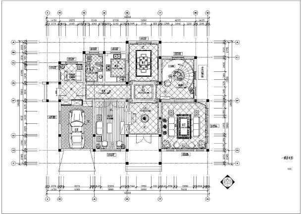 欧式复式别墅全套装修设计图-图2
