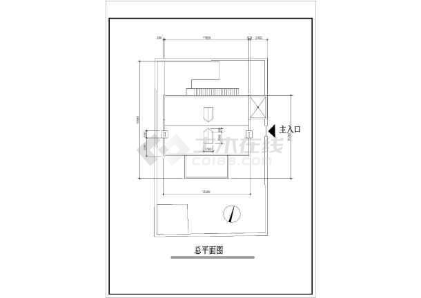 某地小住宅建筑设计方案图纸-图3