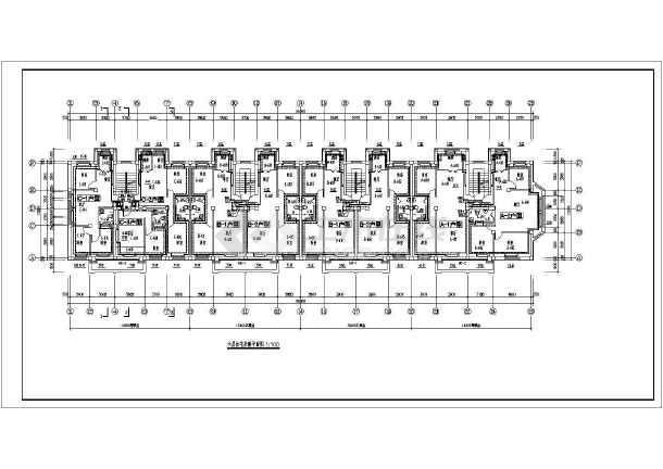 某住宅楼采暖图纸-图3