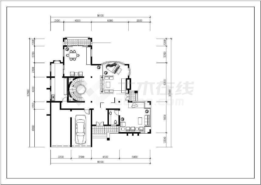 最新整理的小别墅建筑设计图-图2